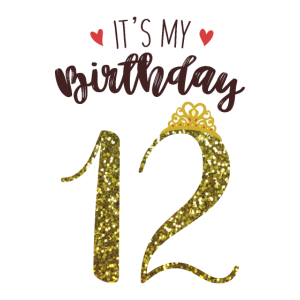 12. Geburtstag Mädchen Geschenk Prinzessin