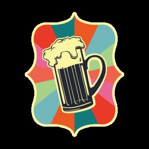 Vintage Retro Bier
