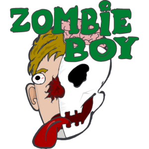Kid's Zombie Boy Geek T Shirts Geschenk Halloween