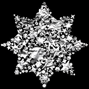 Stern aus Silber