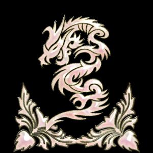 Wundervoller dekorativer chinesischer Drache