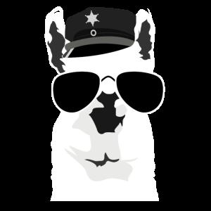 Polizei Alpaka White