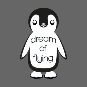 """Dream of Flying"" Pinguin"