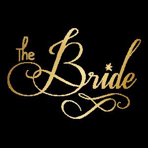 Bride JGA Junggeselinnen Braut Trauung T-Shirt