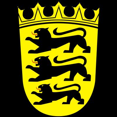 Baden-Württemberg Wappen - Das Wappen des Bundesland Baden-Württemberg - württemberg,schwarzwald,baden,Wappen,Schwaben,Bodensee,Baden-Württemberg