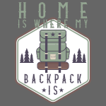 Home Is Where My Backpack Is