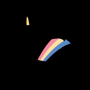 Einhorn Unicorn Fabelwesen Fabel Regenbogen