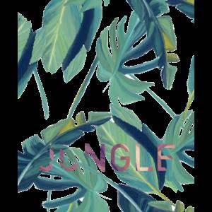 Dschungel Blätter
