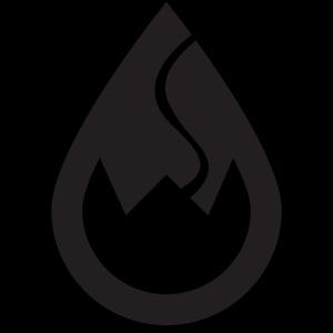 WSC Wicked Sick Crew Tropfen-Logo schwarz