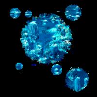 Unterwasser Motiv Wasser Fleck Geschenk Luftblasen