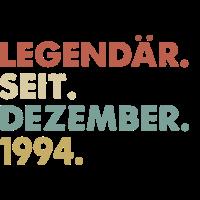 Legendaer seit Dezember 1994 Geburtstag Geschenk