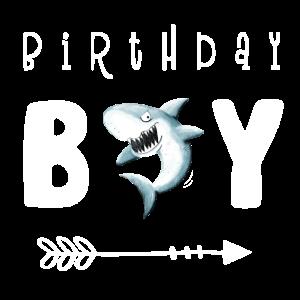 Birthday Boy I Jungen Geburtstag I Hai i Haifisch