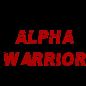 Alpha Warrior Idee Geschenk Geschenkidee