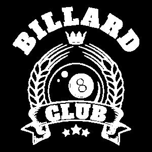billard club frauen maenner t-shirt