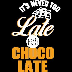 es ist nie zu spaet fuer schokolade frauen maenner