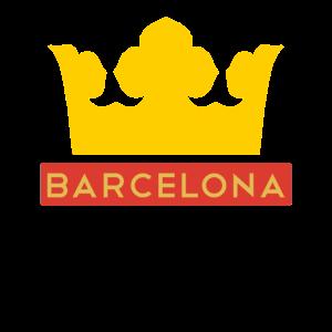 Barcelona Krone Shirt Spanien Las Ramblas T-Shirt