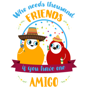 Freundschafts Shirt • My Amigo • lustiges Geschenk