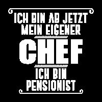 ich bin pensionist frauen maenner t-shirt