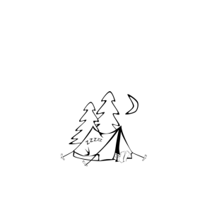 Camping und Sein