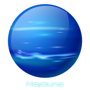 Sonnensystem Weltraum Planet Neptun All