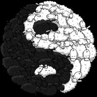 Yin Yang Schafe