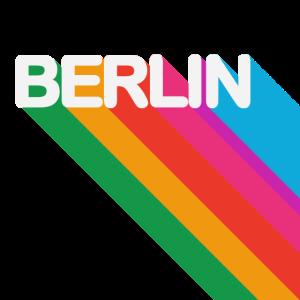 Berlin Retro Design Bunt