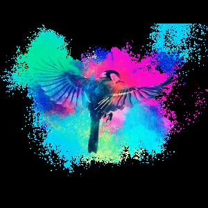 Tier Vogel farbenfroh