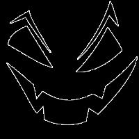 Halloween Gesicht Geschenkidee Gruselig
