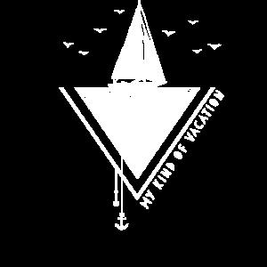 Sailor Seefahrer Segeln Tshirt Minimalistisch
