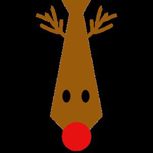 Rudolf Krawatte - Weihnachten, Nikolaus, Geschenk