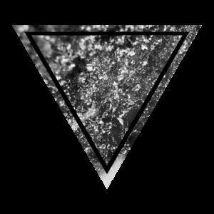 Spinnennetz Dreieck digitale Kunst