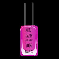 Bleib locker und lakier deine Nägel