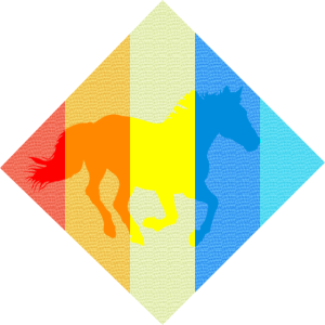 Pferd Pop-Art Geschenk Reiten Reitsport