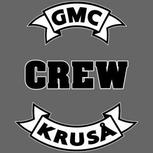 GMC CREWSHIRT - KUN FOR / CREW MEMBERS ONLY