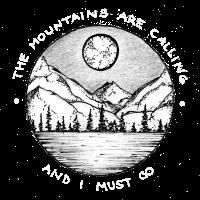 Mountains are calling T-Shirt Wandern Abenteuer
