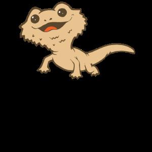 Bartagame Reptil Echse Gecko Tierkind Zoo Haustier