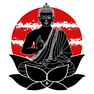 Buddha Lotusblüte
