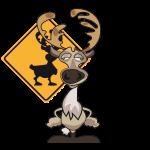 caribou_debout