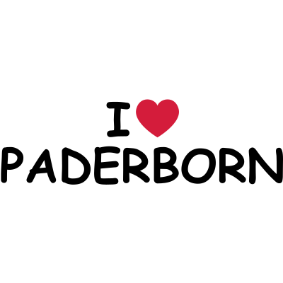I heart/love Paderborn - Ein I heart/love Paderborn Motiv. - stadt,paderborn,love,liebe,ich,i,herz,heart,Paderborn,Liebe