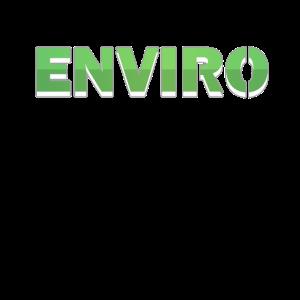 Enviro drop shadow green