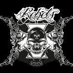Rebels - schwarz/weiß - negativ