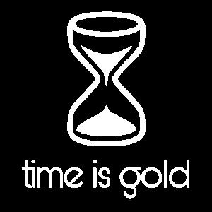 Time is Gold / Geschenk Geschenkidee
