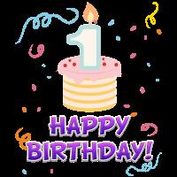 Geburtstag | Kindergeburtstag - 1 Jahr alt - Kind