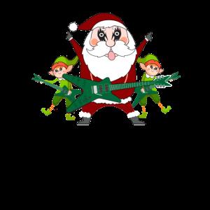 Weihnachten Rock & Heavy Metal Weihnachtsmann Elfe