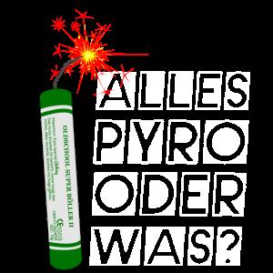 Feuerwerk alles Pyro