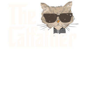 The Catfather T-Shirt Funny Gift Shirt