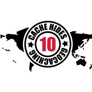 cache hides - 10