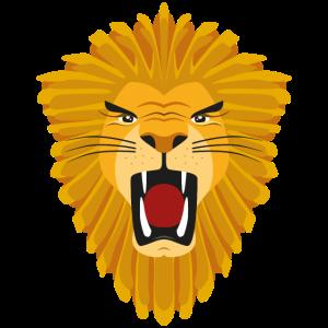 Löwe-Vektor-Illustration