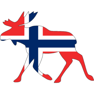 Norwegen Elch