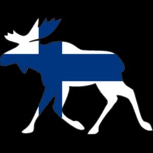 Finnland Elch